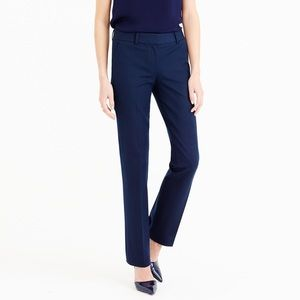 J.Crew Campbell Bi-Stretch Cotton Trouser Size 8P